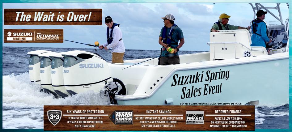 Suzuki Spring Sales Event 2020 Banner